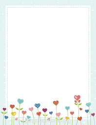 Small Picture Free Page Borders