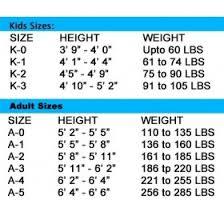 Symbolic Bjj Kimono Size Chart Grips Gi Size Chart Jiu Jitsu