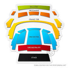 The Tobin Center Seating Chart Tobin Center For The Performing Arts Tickets