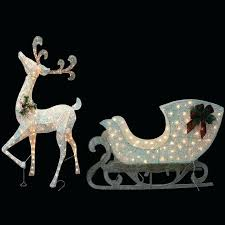 outdoor holiday decor what to deer with lights reindeer decorations lighted uk
