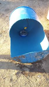 if the bungs are on the back of your waterer all you have to do is slide the cut piece on the barrel like below and it in place