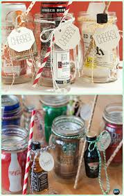 Decorating Mason Jars For Gifts DIY Mason Jar Christmas Gift Wrapping Ideas Instructions 62