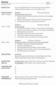 Us Resume Format Elegant American Cv Example Intoysearch Resume