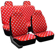 china universal fit 6pcs full set round spot pattern polyester fabric girly car seat cover china auto seat cushion car seat cover