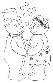 Kleurplaat Beertjes Met Hartjes Valentijn Kleurplaat 33