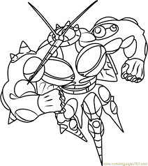 Small Picture UB 02 Absorption Pokemon Sun and Moon Coloring Page Free Pokmon