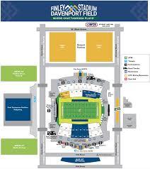 Utc Seating Chart Finley Campus Map Finley Stadium Davenport Field First