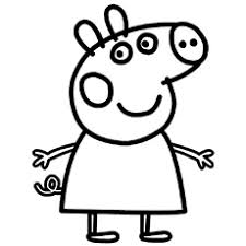 Top 35 Free Printable Peppa Pig Coloring Pages Online