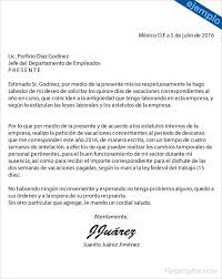 Formato De Carta De Solicitud Ejemplos De Carta Para Solicitar Vacaciones