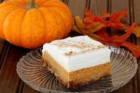 here is my latest creation poi pumpkin crunch this is a re creation of a por holiday dish that we always server for thanksgiving