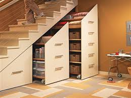 Space Saving Shelves Adorable Space Saving Bedroom Under Stair Storage With Smart Under