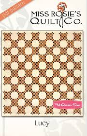 Lucy Downloadable PDF Quilt Pattern Miss Rosie's Quilt Company ... & Hover to zoom Adamdwight.com