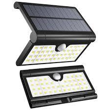 Folding Solar Light Solar Motion Sensor Light Outdoor Aveki 42 Led Foldable