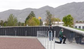 Small Picture The Wall a Replican of Washington DCs Vietnam Wall Memorial