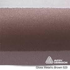 929 Gloss Metallic Brown Avery Dennison Sw900 Series Cast Vinyl