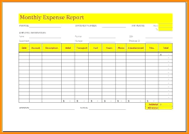 Expense Report Forms Free Weekly Expense Report Template Template Weekly Expense