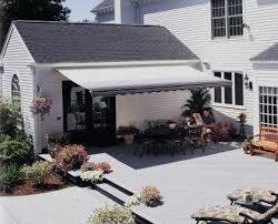 12ft sunsetter black stripe motorized awning motorized awnings for decks96