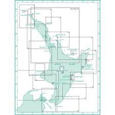 New Zealand North Island Charts Boating Burnsco
