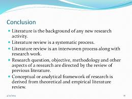 writing and presenting literature review khalid DGMT Growing Confidence