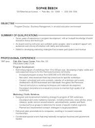 Sample Resume Without Objective Topshoppingnetwork Com