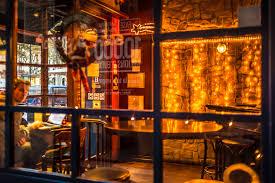 105902 Pxhere Cafe Coffeeshop - I Night Photos Interior Restaurant Images Cool Indoor Windowpanes Window Stock Publicdomain Lighting Customer Free Stool Bar Barstool Design Table Laptop 6016x4016 Lights Image