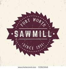 sawmill logo. sawmill logo, emblem, badge in vintage style logo e