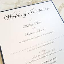 Traditional Wedding Invitation Traditional Wedding Invitation Printed Onto Luxury White Pearlised