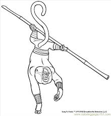 Small Picture Kung Fu Panda 4 Coloring Page Free Kung Fu Panda Coloring