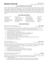 Sample Resume For Attorney Paralegal Resume Template Toreto Co Litigation Samples Pre 38