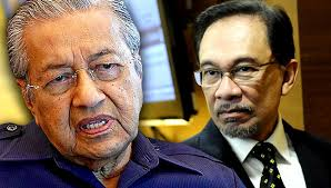 Image result for Najib in  Anwar and Mahathir