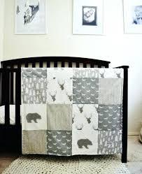 boys woodland bedding rustic baby boy nursery ideas set themed crib by home improvement s madison