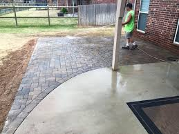 patio contractor decorative concrete