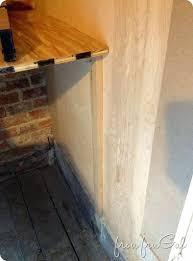 gap between dishwasher and countertop filling gap between wall and dishwasher