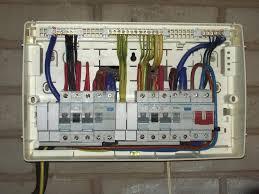 diy wiring a consumer unit and installation distribution images wiring consumer unit split load diagram