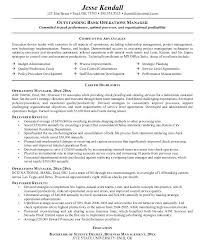Resume Operation Top Bank Operations Officer Resume Samples