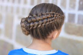 Plaits Hairstyle how to create a zipper braid updo hairstyles cute girls hairstyles 4497 by stevesalt.us