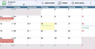 Monthly Calendar 2013 12 Of The Best Calendar Apps Available For Your Android