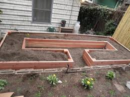 Small Picture Learn How to Build A U Shaped Raised Garden Bed Home Design
