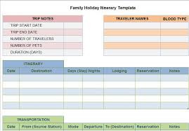 30 Itinerary Templates Travel Vacation Trip Flight