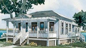 Tidewater Low Country House Plans   Sunset House PlansInlet Cottage SL