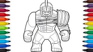 The printable pages capture the powerful character in all its glory. How To Draw Lego Hulk From Marvel S Thor Ragnarok Movie Youtube