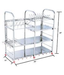Steel Rack For Utensils