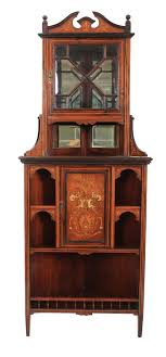 english antique display cabinet. Rosewood Marquetry Inlaid Corner Cupboard. English Antique Display Cabinet C