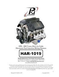 best images about engine wiring and tuning the 1998 2002 vortec drive by cable electronic fuel injection wiring harness by psiconversion via slideshare