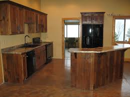 Recycled Kitchen Cabinets Reclaimed Wood Kitchen Cabinetry Cliff Kitchen