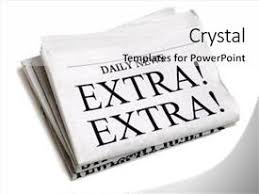 Powerpoint Newspaper Clipping Template Newspaper Headlines Powerpoint Templates W Newspaper