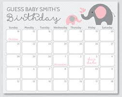 Baby Due Date Countdown Calendar Tirevi Fontanacountryinn Com