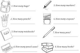 Enjoy Teaching English: NUMBERS+HOW MANY+SINGULAR/PLURAL