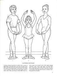 Ballet Class Coloring Pages All About Pointe