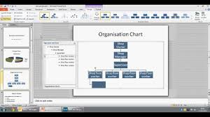 Editing The Org Chart